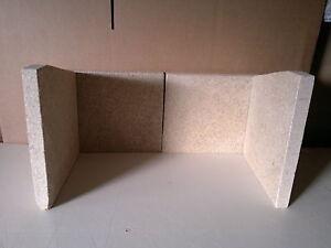 Full Brick Set Compatible with Dunsley Highlander 5 Multi-Fuel Stove