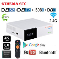 GTMedia GTC Android Smart TV Box DVB-S2/T2/C Combo Quad Core 4K WIFI TV Receptor
