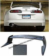 T-Style Carbon Fiber Rear Trunk Wing Spoiler JZA80 MK4 For 93-98 Toyota Supra