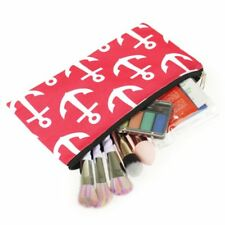 Pencil Case Toiletry Holder Cosmetic Bag Travel Makeup Zip Storage Organizer