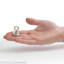 MINI RECOVERY CLAMPING MAGNET 25mm VERY STRONG. SEA, FISHING, TREASURE HUNTING