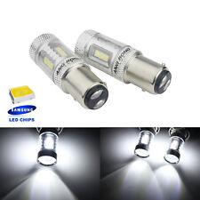 2x Ampoule  LED 380 P21/5W 1157 BAY15d blanc Feu de position Stop Lumière