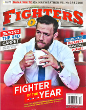Fighters Only Magazine May 2017 CONOR MCGREGOR, Dana White, Mayweather, McCarthy