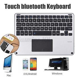 Mini bluetooth Kabellos Tastatur Touchpad Wireless für Android Windows Tablet