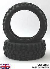 2 x Badlands Spike Off Road RC Buggy Tyres 1/8 scale & foam inserts 1/8th Truggy