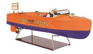No. 43 Runabout Boat  Lionel lines orange, blue 11-90079