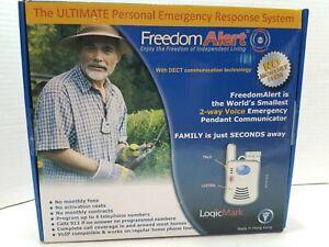 LogicMark FREEDOM ALERT 35511 Personal Emergency Response System No Fees