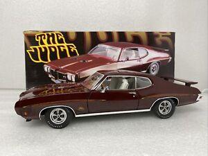 1/18 ACME 1970 Pontiac GTO Judge Burgandy  Part # A1801203 READ