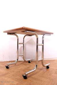 Küchentisch Frühstücktisch Esstisch Schreibtisch Rohrgestell Rollen Arbeitstisch