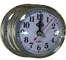 80mm Quartz Clock Insertion Movement [20 Pack]