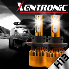 XENTRONIC LED HID Headlight kit H13 9008 White for 2006-2009 Pontiac Solstice