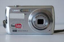 Casio EXILIM EX-Z35 Digital Camera 12.1MP - Silver TESTED & WORKS