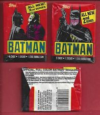 1989 Topps Batman Series II  single  Wax Pack