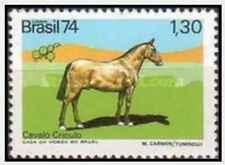 Timbre Chevaux Brésil 1124 ** lot 27781