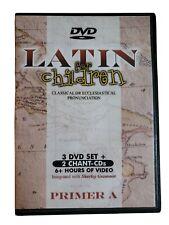 Latin For Children Primer A DVD & CD Set Classical Academic Press. Shurley. 6 hr