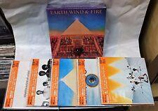 Earth, Wind & Fire - 5 Mini-LP CD PROMO BOX Set New JAPAN