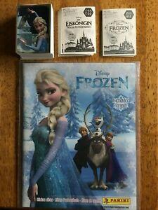 Panini Disney Frozen Movie & Enchanted Moments Sticker Complete Set Empty Album