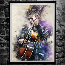More details for noel gallagher oasis poster - wall art print a4 & a3