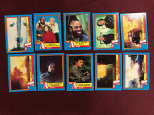 A-Team Topps 1983 Complete 66 Card Set