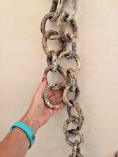 Ceramic Decorative Art Chain Sculpture Installation For Wall Table
