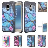 Samsung Galaxy J3 2018, J3 Star, J3 Orbit, J3 Aura Case, Shockproof Hybrid Cover
