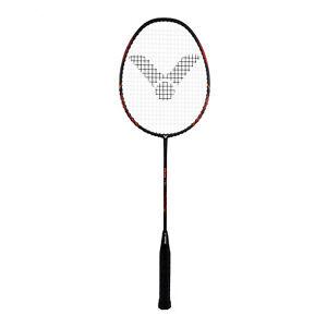 VICTOR Victec Rap Badminton Racket - Special Edition Black/Red