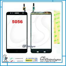 """Vetro Touch Screen nero ALCATEL ONE TOUCH POP 4 PLUS 5056D 5056X 5,5"""" +Biadesivo"""
