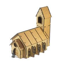 Gothic Chapel 28mm fantasy for warhammer warmachine terrain scenery