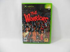 ORIGINAL XBOX GAME - THE WARRIORS - ROCKSTAR - MOVIE - COMPLETE - FREE SHIPPING