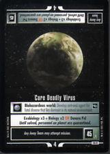 STAR TREK CCG VOYAGER RARE CARD CURE DEADLY VIRUS