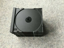 20 X BLACK PLASTIC TRAY INSERTS FROM CD JEWEL CASES EXCELLENT CONDITION