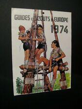 Scouts calendrier 1974 Joubert Ed. Scouts de France TTBE