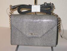 Nine West Grey and Black Wallet Sling Chain Crossbody Bag $40