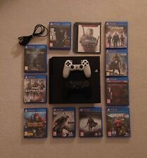 PS4 750GB  (was 500GB)  with 2 Controllers + Games