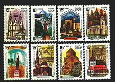 6108 - Russia 1990 - Historical Buildings - Churches - Mnh(*) Set