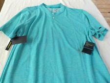 NWT Nike 2 button polo, mens XL, XXL, Aeroreact, standard fit, Tiger Woods, $90