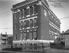Old Photo.  Dorchester, MA.  Nathaniel Hawthorne School Building