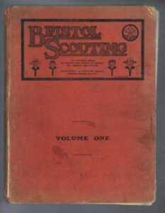Gloucestershire: BRISTOL SCOUTING: Bristol Boy Scouts' Association. Vol One 1924