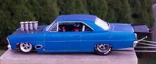 MINT DRAG CAR Blue 66 BoX Nova Blueprinted Poly Motor Wolf Drag Arm ☆Killer☆