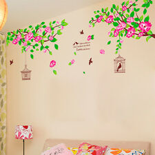7178 | Wall Stickers LCD TV Backdrop Hibiscus Flowers