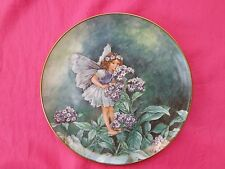 VILLEROY & BOCH Flower Fairies Cicely Mary Barker Plate HELIOTROPE FAIRY