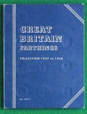 More details for 1937 to 1956 george vi elizabeth ii complete whitman farthing folder sno38688