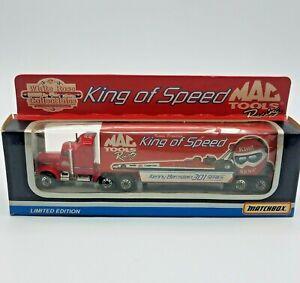 VTG 1993 Kenny Bernstein Mac Tools Racing Diecast Car Hauler Matchbox Tyco Toys