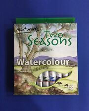 Watercolour Paint Set Two Seasons 18X12ml Tubes Mont Marte Spring & Autumn Art