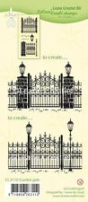 Leane Creatief - GARDEN GATE Clear Cling Rubber Stamp    55.3110