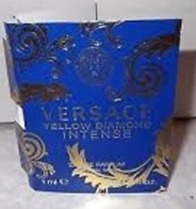 Versace, YELLOW DIAMOND Intense, Eau De Parfum, Sample Trial 1 ml, natural spray
