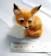 Learning Resources Miniature Plush Fox Sitting Fengshui Stuffed Animal Toy Gifts