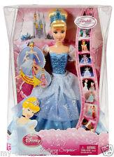 Barbie Disney Princess 2 In 1 Ballgown Surprise Cinderella Doll NEW