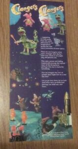 Clangers Bookmark