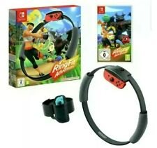 Nintendo Switch Ring Fit Adventure Game & Accessories 🎁New